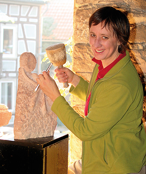 Bildhauerin Ulrike Fleischer