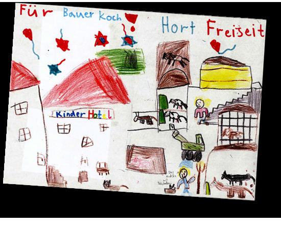 Kinderbild Biobauernhof