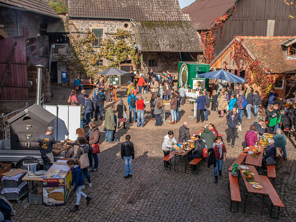 Besucher des Hoffestes 2019