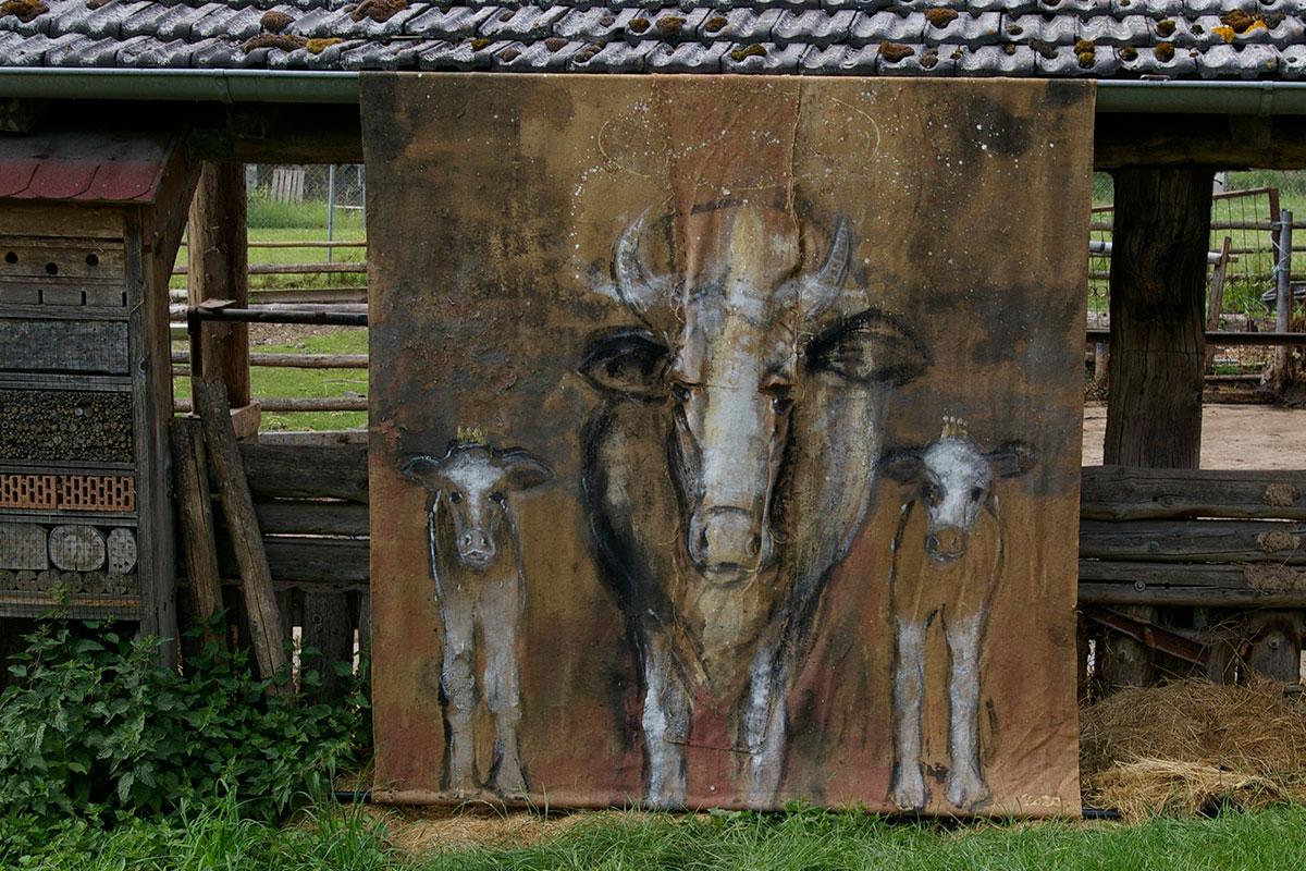 Beate Hodapp - Kuhzwillinge