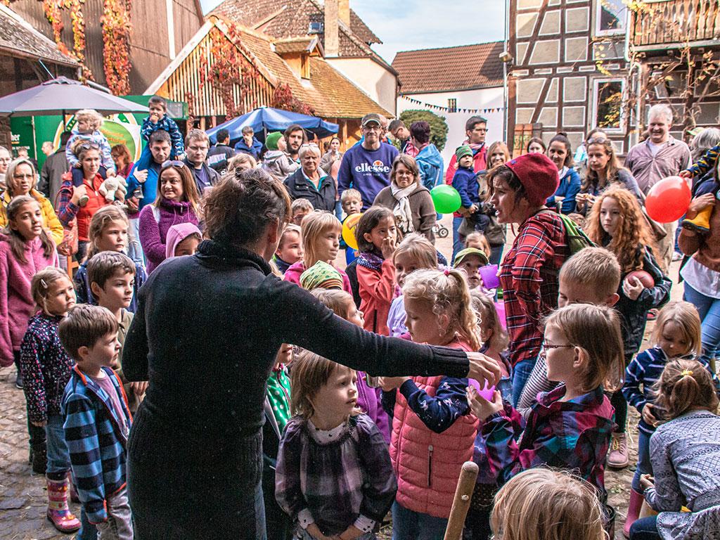 Märchenführung auf dem Hoffest 2019